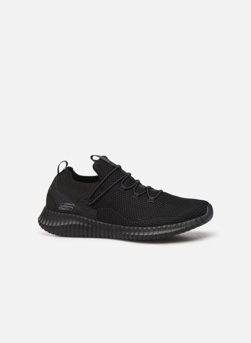 Chaussures de sport Skechers Elite Flex Lochbay Noir vue derrière