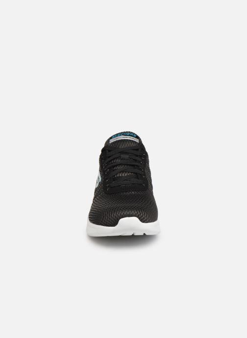 Chaussures de sport Skechers Skech-Air Ultra Flex Noir vue portées chaussures