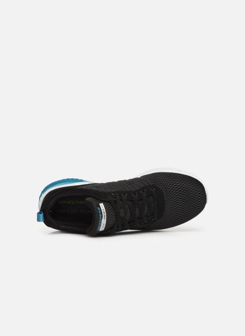 Zapatillas de deporte Skechers Skech-Air Ultra Flex Negro vista lateral izquierda