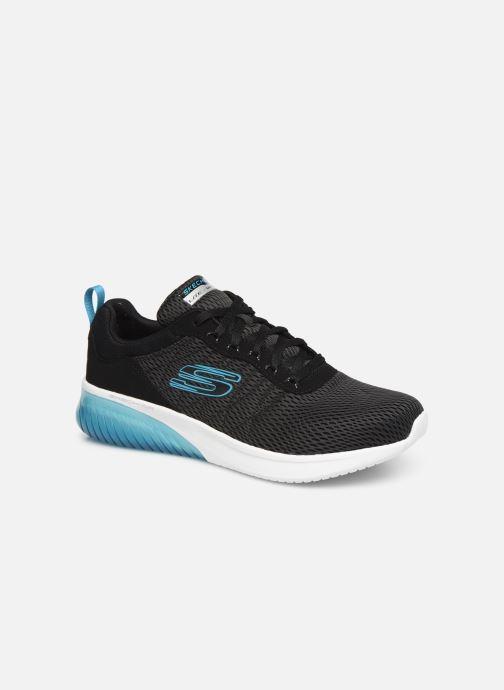 Sportssko Skechers Skech-Air Ultra Flex Sort detaljeret billede af skoene