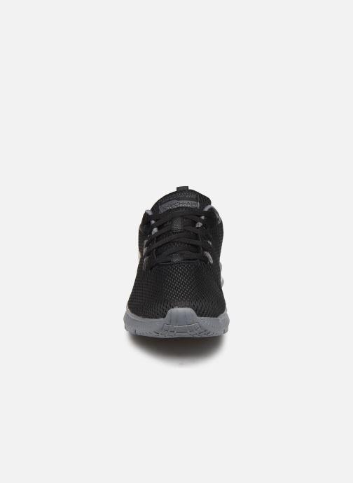 Sportssko Skechers Dyna-Air M Sort se skoene på