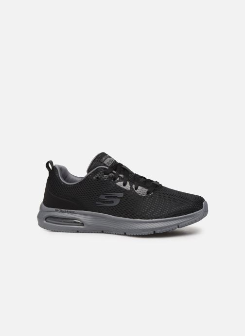 Sportssko Skechers Dyna-Air M Sort se bagfra