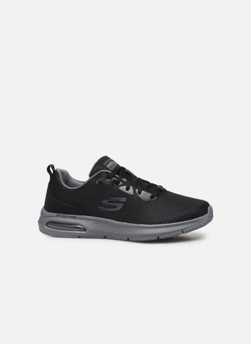 Chaussures de sport Skechers Dyna-Air M Noir vue derrière