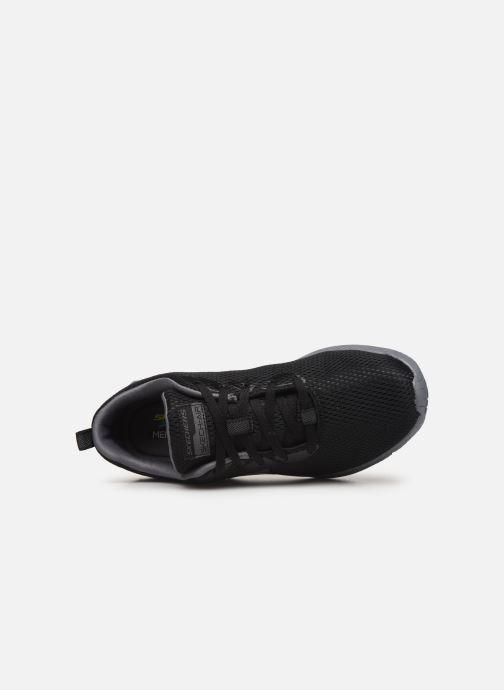 Chaussures de sport Skechers Dyna-Air M Noir vue gauche