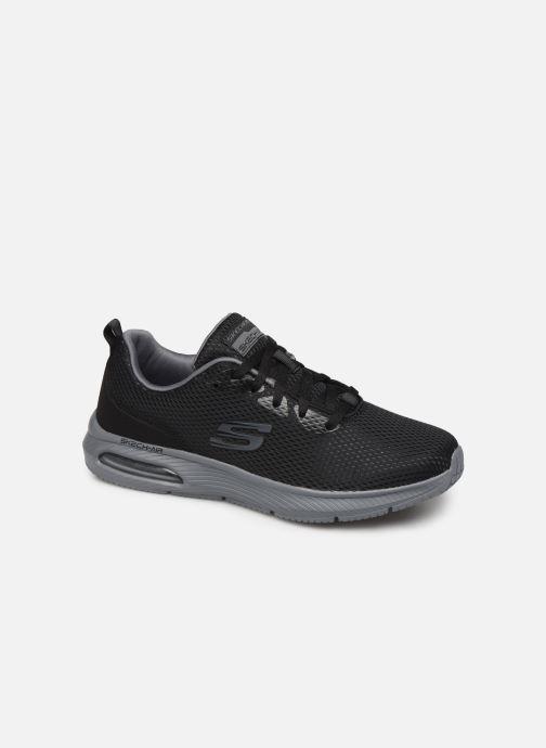 Sportssko Skechers Dyna-Air M Sort detaljeret billede af skoene