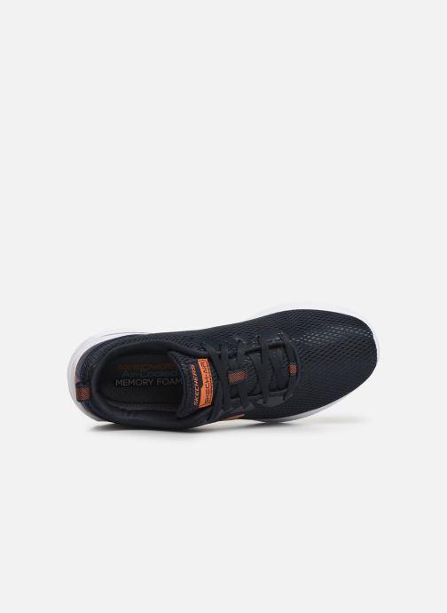 Sportssko Skechers Dyna-Air M Blå se fra venstre