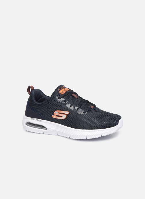 Sportschoenen Skechers Dyna-Air M Blauw detail
