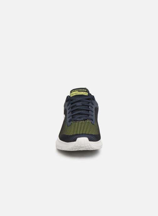 Chaussures de sport Skechers Dyna-Air M Bleu vue portées chaussures