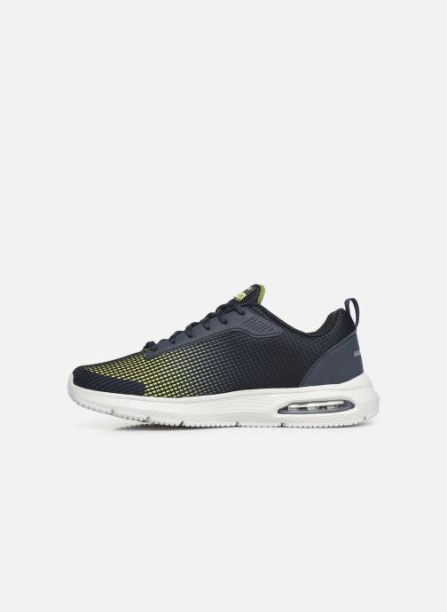 Chaussures de sport Skechers Dyna-Air M Bleu vue face