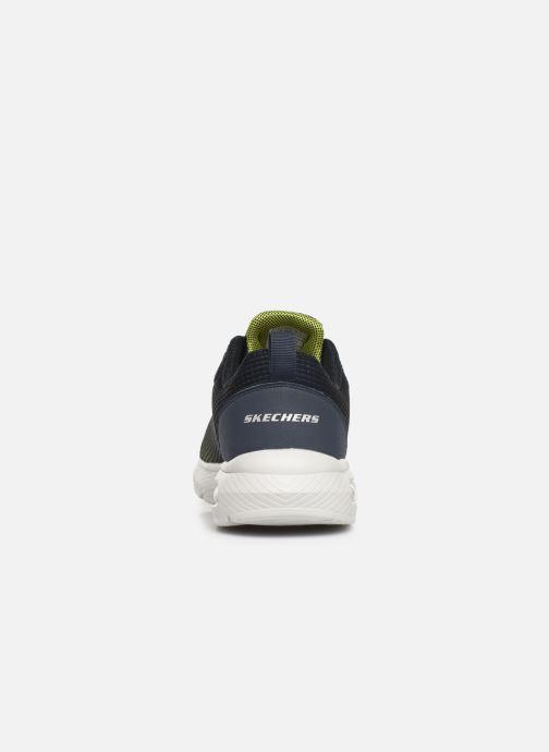 Chaussures de sport Skechers Dyna-Air M Bleu vue droite