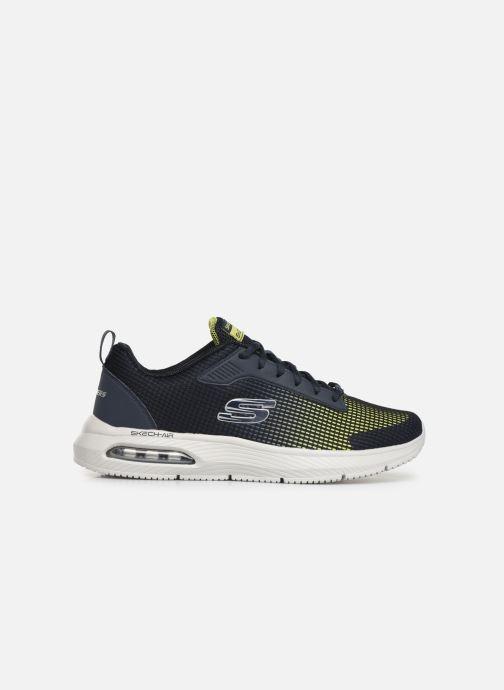 Chaussures de sport Skechers Dyna-Air M Bleu vue derrière