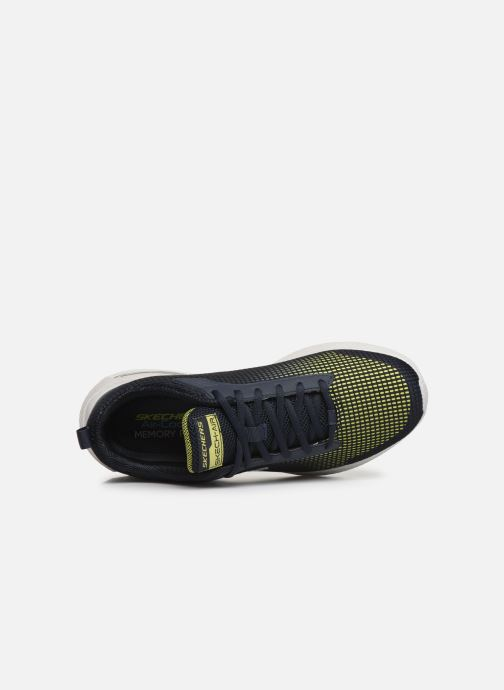 Chaussures de sport Skechers Dyna-Air M Bleu vue gauche