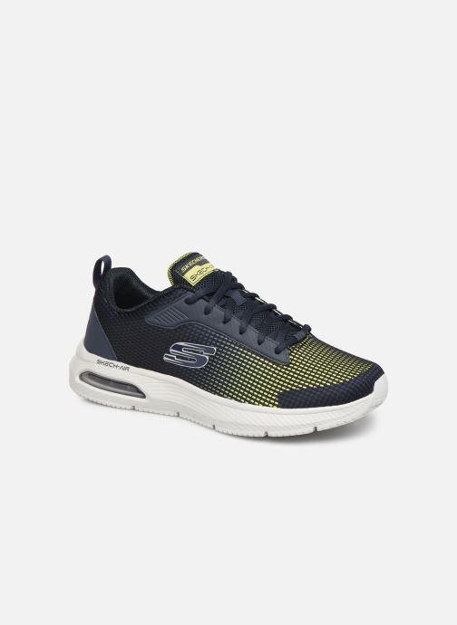 Sportssko Skechers Dyna-Air M Blå detaljeret billede af skoene