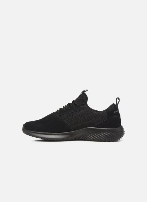 Sport shoes Skechers Bounder Skichr Black front view