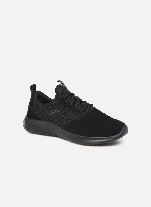 Sportssko Skechers Bounder Skichr Sort detaljeret billede af skoene