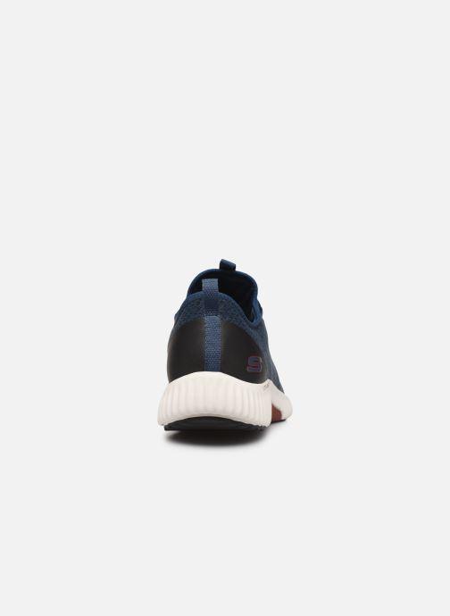 Chaussures de sport Skechers Paxmen Trivr Bleu vue droite