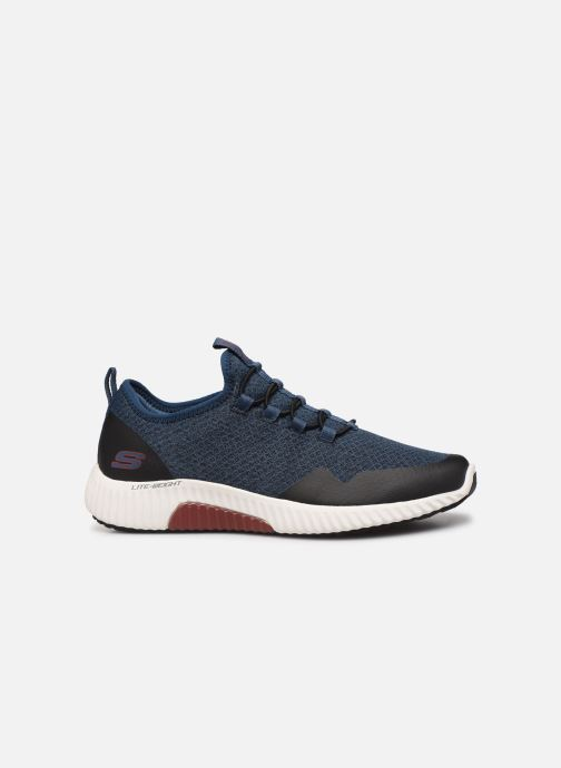 Sport shoes Skechers Paxmen Trivr Blue back view