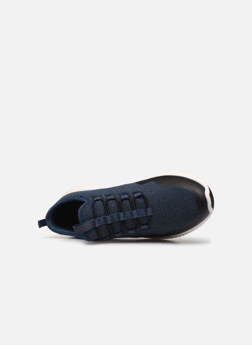Chaussures de sport Skechers Paxmen Trivr Bleu vue gauche