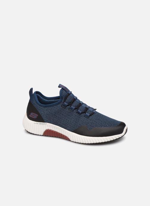 Chaussures de sport Skechers Paxmen Trivr Bleu vue détail/paire