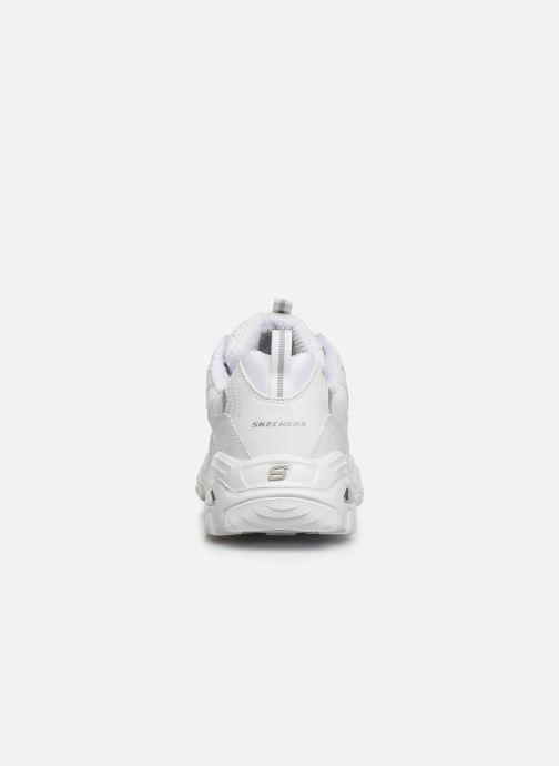 Sneakers Skechers D'Lites Buffston Hvid Se fra højre