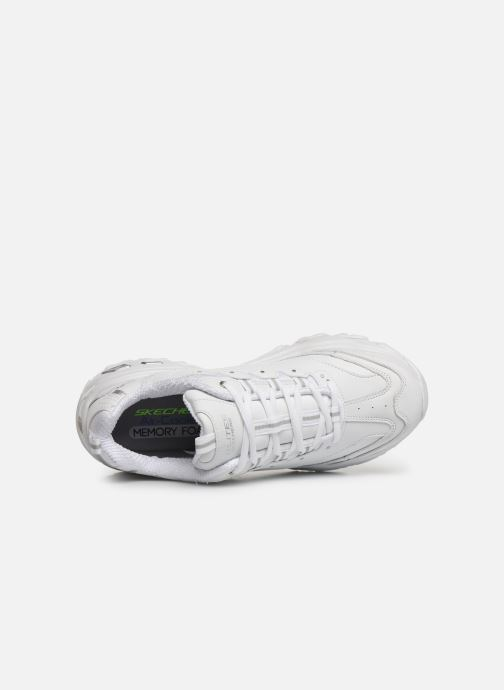 Sneakers Skechers D'Lites Buffston Hvid se fra venstre
