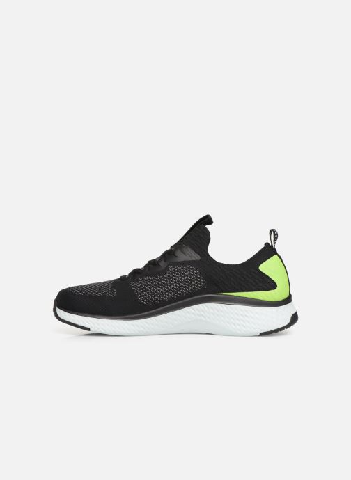 Chaussures de sport Skechers Solar Fuse Noir vue face