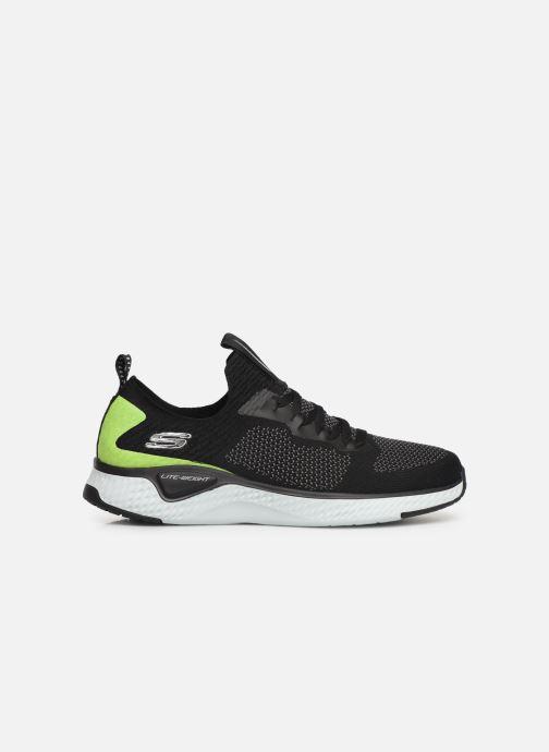 Chaussures de sport Skechers Solar Fuse Noir vue derrière