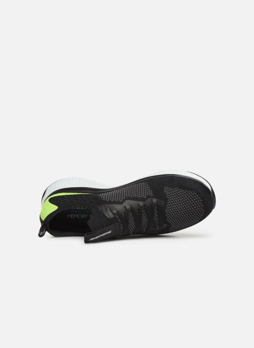 Chaussures de sport Skechers Solar Fuse Noir vue gauche