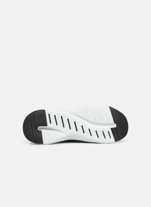 Chaussures de sport Skechers Solar Fuse Noir vue haut