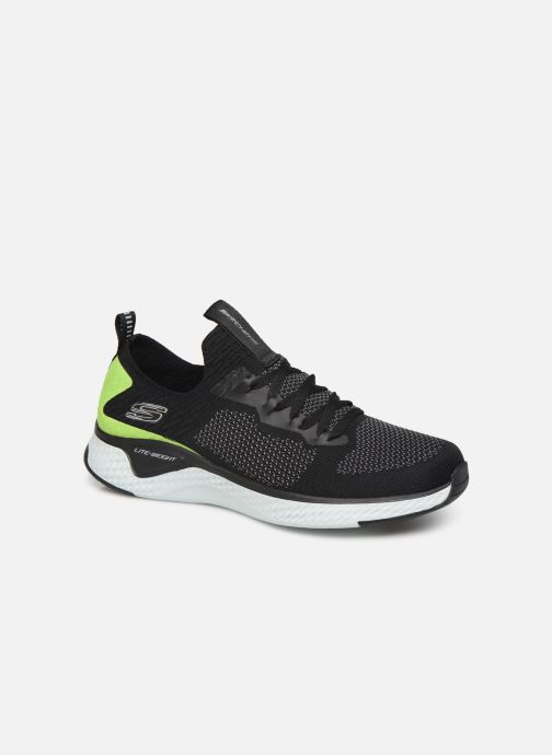 Chaussures de sport Skechers Solar Fuse Noir vue détail/paire