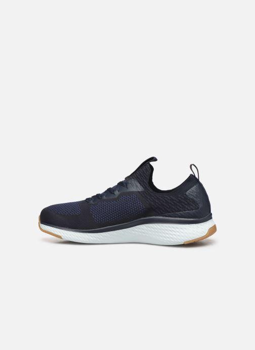 Chaussures de sport Skechers Solar Fuse Bleu vue face