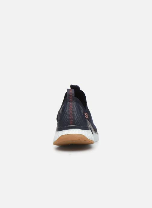 Chaussures de sport Skechers Solar Fuse Bleu vue droite