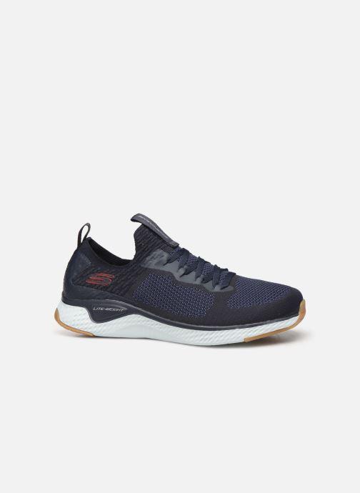 Chaussures de sport Skechers Solar Fuse Bleu vue derrière
