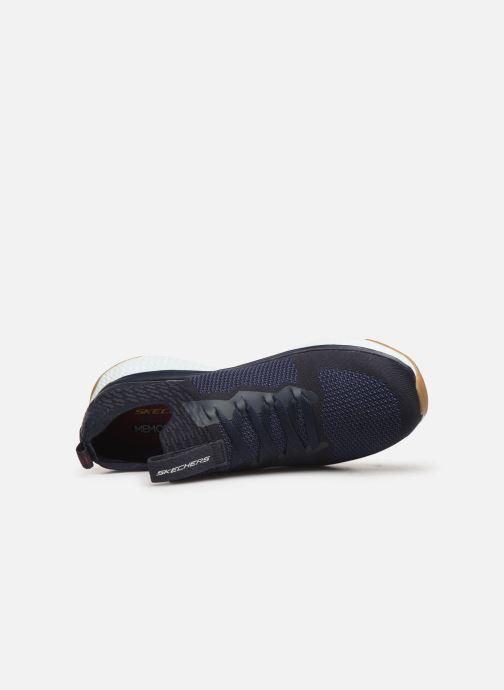 Chaussures de sport Skechers Solar Fuse Bleu vue gauche