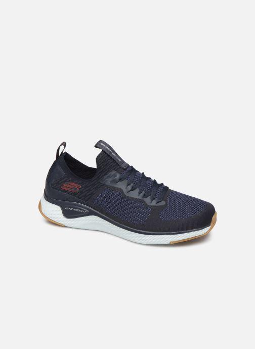 Chaussures de sport Skechers Solar Fuse Bleu vue détail/paire