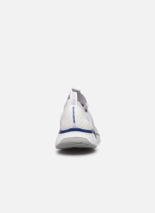 Chaussures de sport Skechers Solar Fuse Blanc vue droite