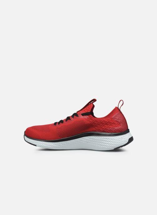 Chaussures de sport Skechers Solar Fuse Rouge vue face