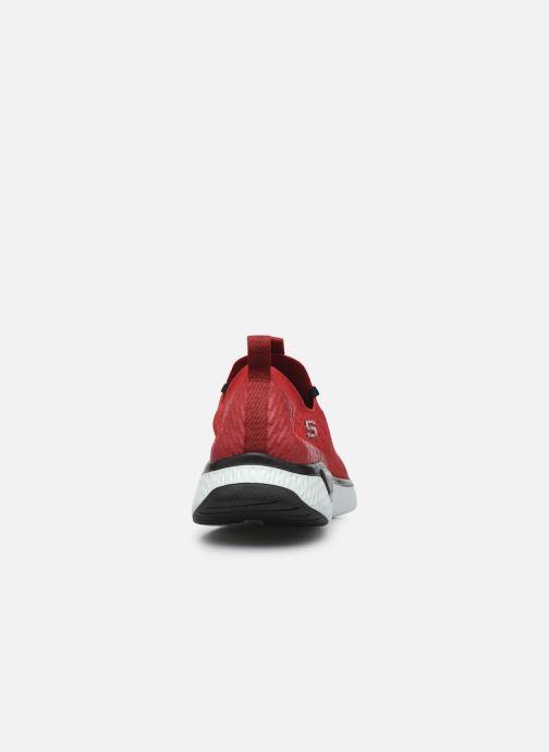 Chaussures de sport Skechers Solar Fuse Rouge vue droite
