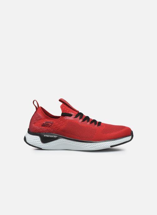 Chaussures de sport Skechers Solar Fuse Rouge vue derrière