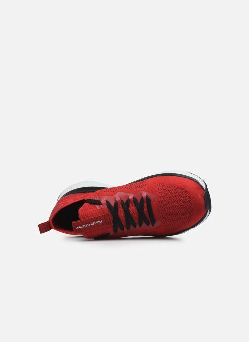 Chaussures de sport Skechers Solar Fuse Rouge vue gauche