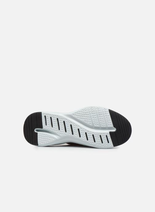 Chaussures de sport Skechers Solar Fuse Rouge vue haut