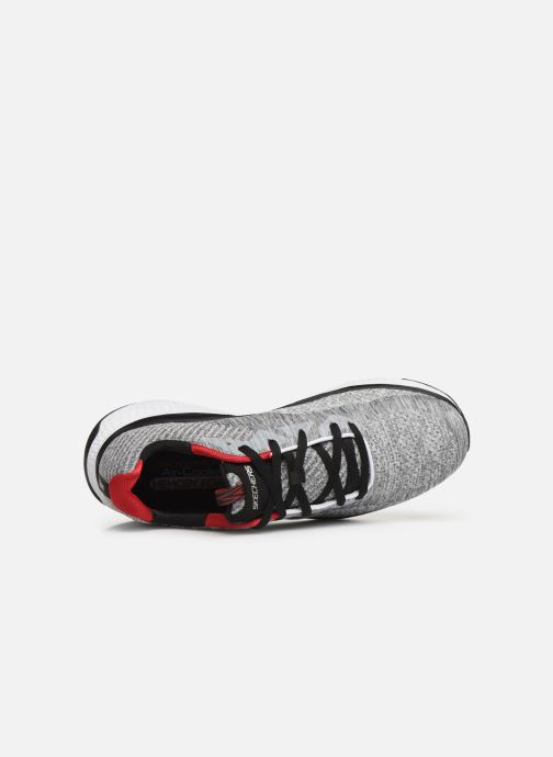 Chaussures de sport Skechers Solar Fuse Kryzik Gris vue gauche