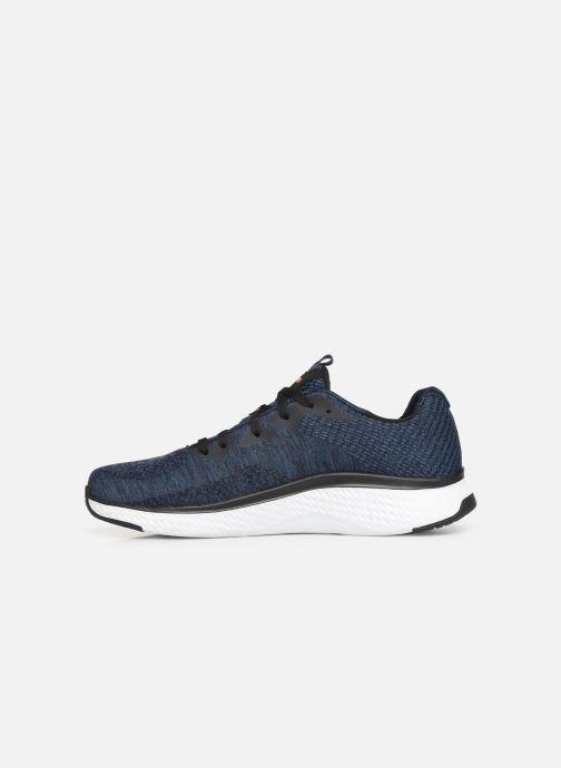 Chaussures de sport Skechers Solar Fuse Kryzik Bleu vue face
