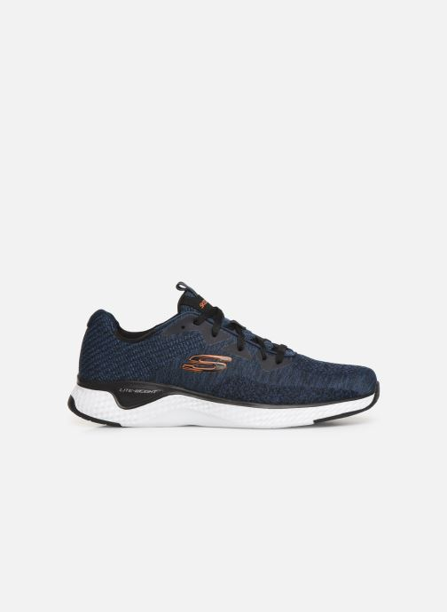 Chaussures de sport Skechers Solar Fuse Kryzik Bleu vue derrière