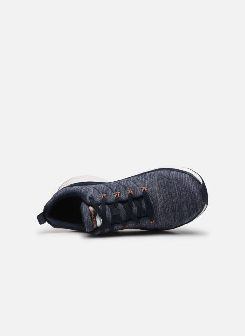 Chaussures de sport Skechers Solar Fuse Kryzik Bleu vue gauche
