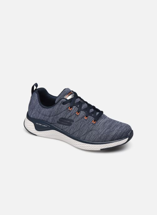 Chaussures de sport Skechers Solar Fuse Kryzik Bleu vue détail/paire