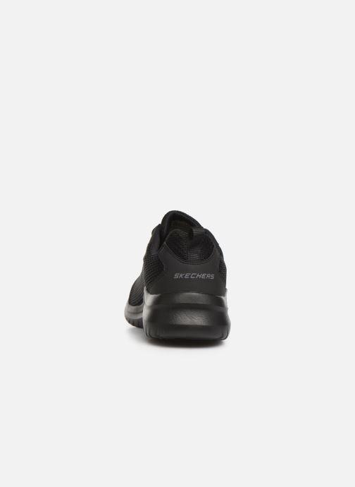 Zapatillas de deporte Skechers Ultra Flex M Negro vista lateral derecha