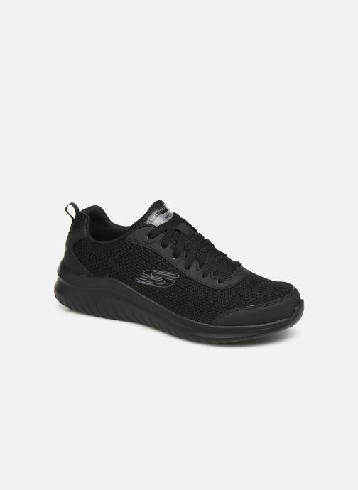 Sportssko Skechers Ultra Flex M Sort detaljeret billede af skoene