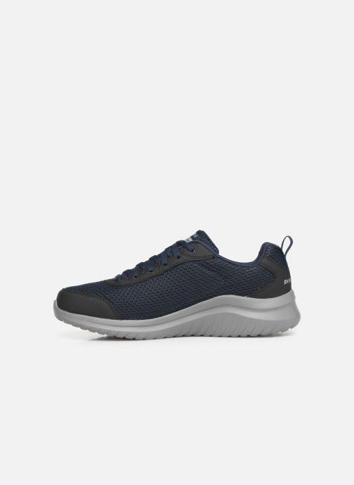 Chaussures de sport Skechers Ultra Flex M Bleu vue face