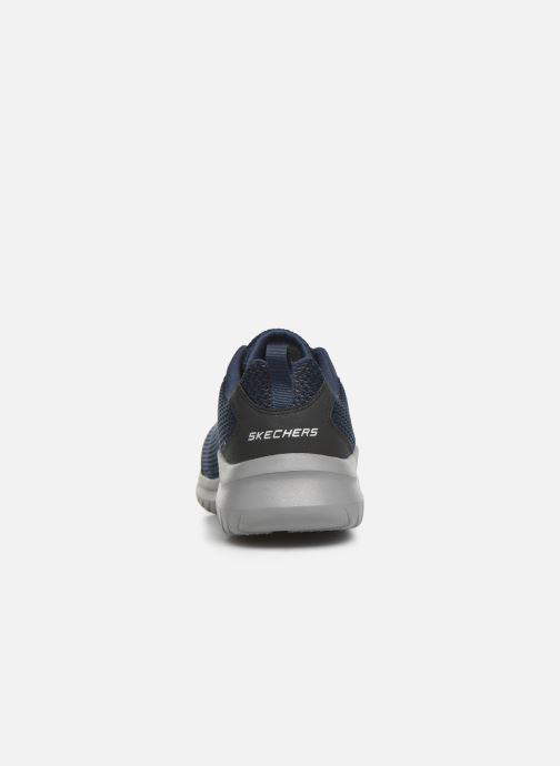 Chaussures de sport Skechers Ultra Flex M Bleu vue droite